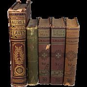 Louis M. Alcott 5 Works: Work 1888 Little Women 1917 Transcendental Wild Oats