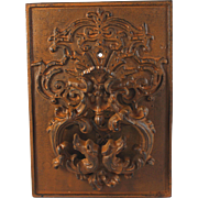 Vintage Ornate Cast Iron Door Knocker