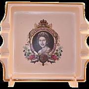 REDUCED Carlton Ware Queen Elizabeth II Jubilee Ashtray