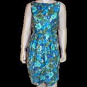 SOLD Vintage 1960's Tori Richard Floral Dress Made In Hawaii
