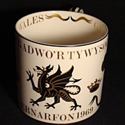 SOLD Richard Guyatt Wedgwood The Investiture of HRH Prince Charles as Prince of Wales in 1969