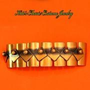 Rebajes Copper Link Bracelet -- Sculptural Design -- 40s -- 50s