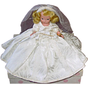 Nancy Ann Storybook Bisque #86 BRIDE Jointed Leg ~ MIB