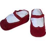 "Large American Character 31"" SWEET SUE Original Red 4 1/4"" Shoes"