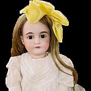 """SOLD Kestner 164 Antique German Bisque Doll, 25"""" Stamped Body"""