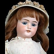"""SOLD 23.5"""" Simon & Halbig 1079 Antique Child Doll In Superb Antique Costume!"""