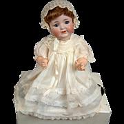 "Rare All Original 21"" Antique Bisque Character Baby Kammer & Reinhardt 126 – Pristine!"