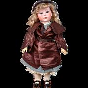 Alluring Antique Burgundy Silk Top Coat circa 1907