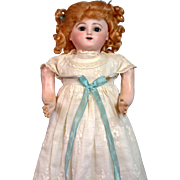 """SALE Extremely Special 17.5"""" Jules Nicholas Steiner's 'Bebe Gigoteur' Mechanical Baby Dol"""