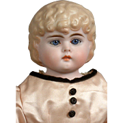 """SALE Extremely Rare 18.5"""" Bahr & Proschild 326 Tinted Bisque Child With Glass Eyes and .."""