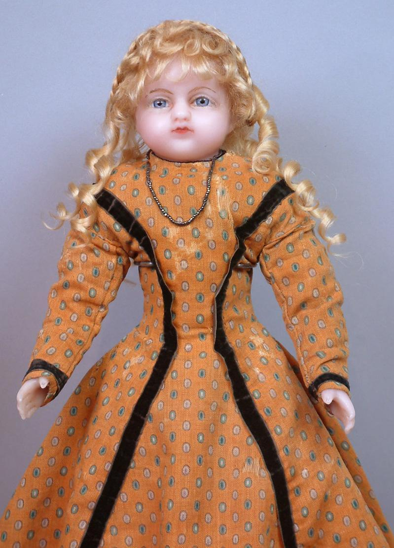 Outstanding 19 Quot English Wax Bebe By Meech C 1862 From