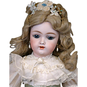 """SALE The Most Beautiful 17"""" 109 Antique Bisque Doll Fabulous Hairstyle & GREAT CONDITION"""