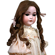 """*Her Majesty* 25"""" Armand Marseille Antique """"Queen Louise"""" Bisque Doll All Antiq"""