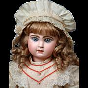 Size 12 Tete Jumeau Bebe With Original 'A La Mignonette' Boutique Label