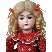 """Darling 16"""" """"Duchess"""" Armand Marseille Antique Doll Great Condition & Costume"""