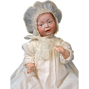 "SALE *Outstanding* 20"" Kaiser Character Baby K&R w/Antique Costume GREAT CONDITION!"