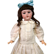 """Lovely 21"""" Antique German Doll Marked """"Princess"""" attb to Armand Marseille"""