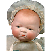 """11"""" Bye-Lo Baby by Grace S. Putnam with RARE Original Red Chest Stamp & Great Condition"""