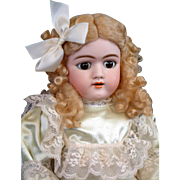 """*Exceptional Face* Handwerck 109 Antique Doll 25"""" with Beautiful Marked Cryer Body"""