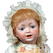 "Beyond Adorable- RARE 22"" Kestner 'Sammy' 211 Character Toddler Antique Doll"