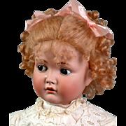 "28"" Kammer and Reinhardt 117n 'Mein Liebling' Flirty Character Child Doll"