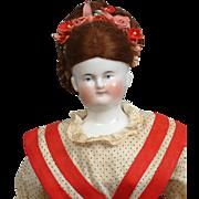 "Best of the Best 17.5"" Biedermeier In Wonderful Condition In Presentation Dress!"