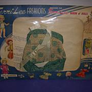 Vintage MIP Original Terri Lee Tagged Bathing Suit!