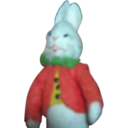 Vintage German BAPS Doll s of the White Rabbit from Alice in Wonderland