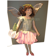 SALE MIB R. John Wright Sweet Pea Fairy Doll from the Flower Fairies Series