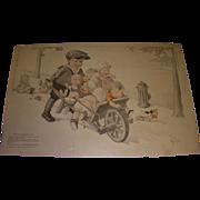 "Vintage 1921 Charles Twelvetrees ""Babies Wanted"" Magazine Memorabilia!"