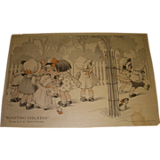 "Vintage 1921 Charles Twelvetrees ""Roasting Chickens"" Magazine Memorabilia!"