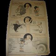 "Vintage 1921 Charles Twelvetrees ""Do Babies Think?"" Magazine Memorabilia!"
