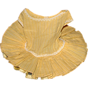 "Vintage Tagged Terri Lee Dress for the 16"" standard Terri Lee Doll."