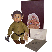 "SALE MIB R John Wright ""Frightened Dopey"" from the Disney Snow White Series!"