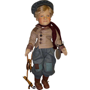 "SALE MIB R. John Wright ""Hans Brinker"" from the Storybook Doll Series!"