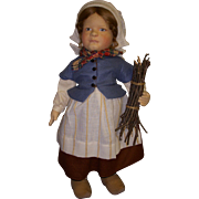 "SALE MIB R. John Wright ""Gretel Brinker"" from the Storybook Doll Series!"