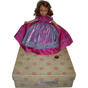 "Nancy Ann Storybook Doll Bisque ""Nellie Bird"" Boxed"