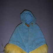 "Vintage Mattel Francie 1970-1971 #1764 ""Corduroy Cape"" Dress!"