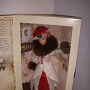 Holiday Memories Barbie Hallmark 1995 by Mattel!