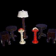 Vintage Lot of Renwal Doll House Furniture!
