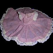 Vintage Madame Alexander Cissette Dress!