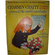 "1964 Vintage ""Charmin' Chatty"" Paper Doll Set !"