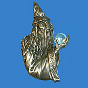 Wizard with Crystal Ball by JJ