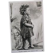 Tuck's Royalty Real Photo Postcard - HRH Prince Edward of Kent