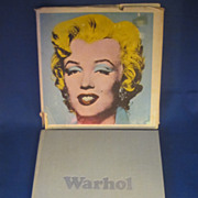 Andy Warhol Tate Gallery 1971 Catalogue Pop Art 1st Ed