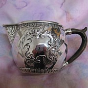 SOLD Hanau Creamer  800 Silver by Schleissner & Sohne - Red Tag Sale Item