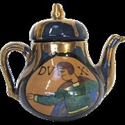 French Lustre Teapot by René Emile Brenner circa 1920