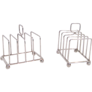 William Hutton & Sons Sterling Toast Racks