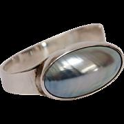 Osmena Pearl Syerling Silver Bracelet by Gunn Trigere