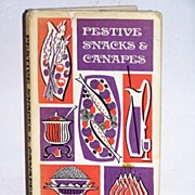 SALE Festive Snacks & Canapes Cookbook
